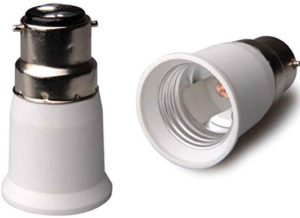 B22 To E27 Adaptor Bulb Holder Converter