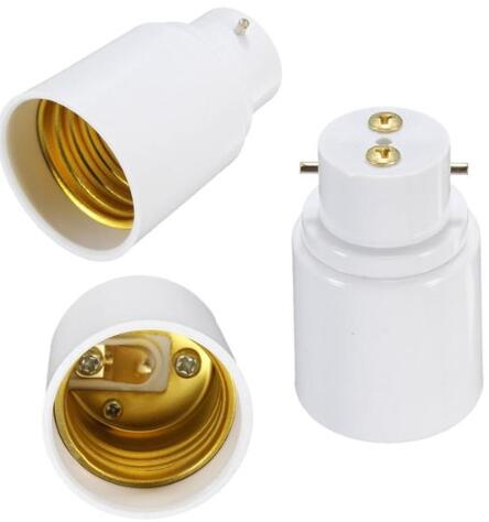 New B22 To E27 Screw Lamp Holder Adapter Converter