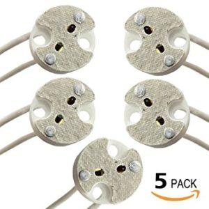 MR16 Bi Pin Light Sockets Adapter