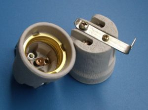 E27 Bulb Holders ceramic