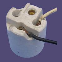 e27 holder wiring