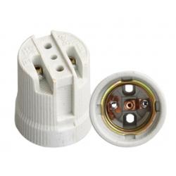 Customized Lamp Holder Parts China Manufacturer E27 Ceramic