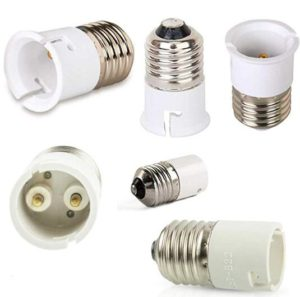 E27 To B22 Adaptor Light Bulb Socket Converter