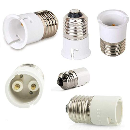 E27 To B22 Lamp Holder Socket Plug Adapters Converter
