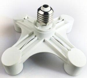 E27 light bulb adaptor Splitter