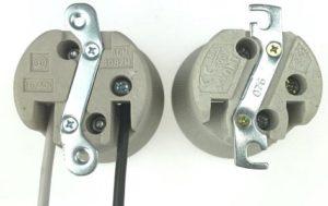 E40 Porcelain lamp Holder with M5 bracket