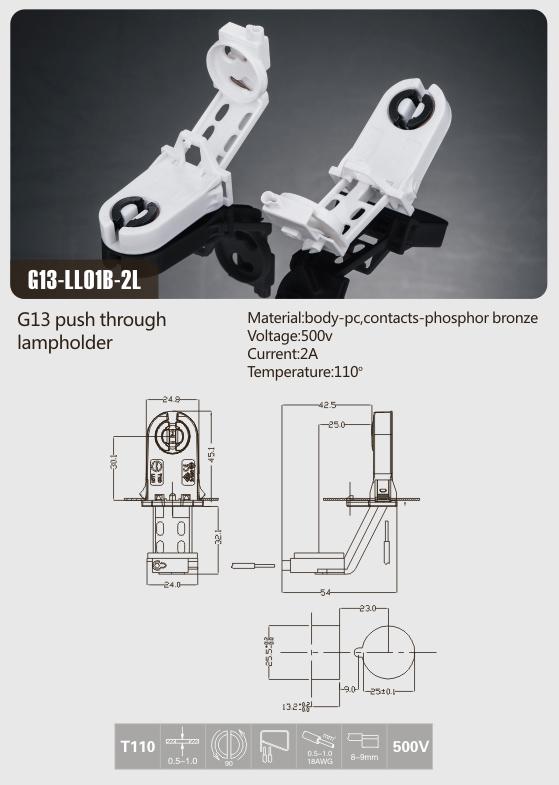 fluorescent-light-bulb-holders-t8-g13-with-starter