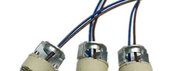G9 Bulb Holders Halogen LED Bulb Down Light Fitting