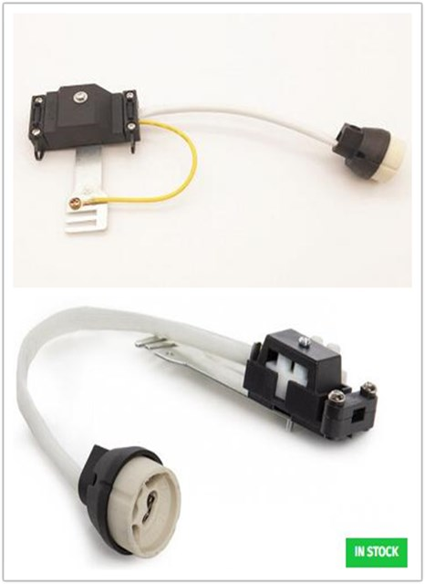 GU10 Connector Ceramic Lamp Holder With Terminal Block