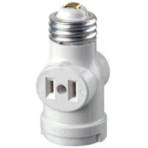 Light Bulb Adapter Socket