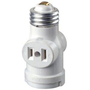 Light Bulb Holder With Plug