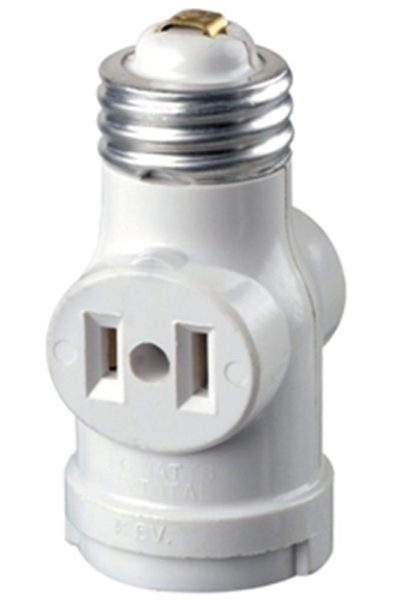 Light Bulb Holder With Plug
