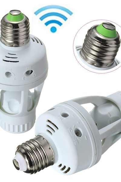 Outdoor Light Socket Adapter