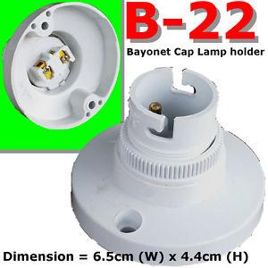 b22 lamp holder