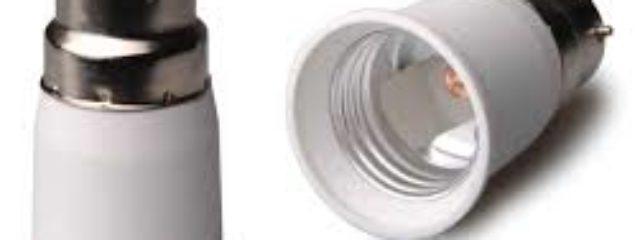 b22 to e27 bulb socket converter adapter