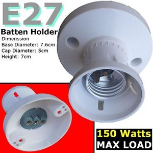 batten lamp holders e27