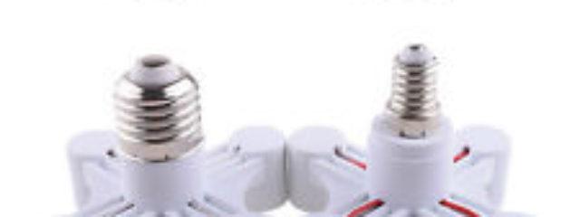 candelabra socket splitter