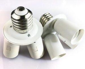 ceiling light fixture adapter