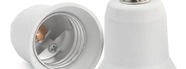 e12 to e26 light bulb adapter