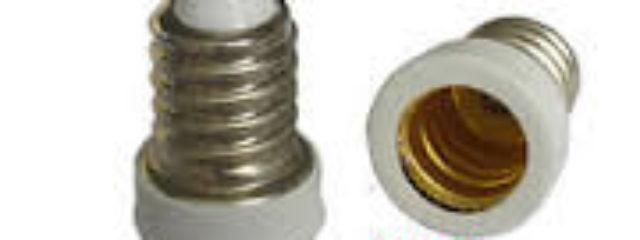 e14 to e12 bulb adapter