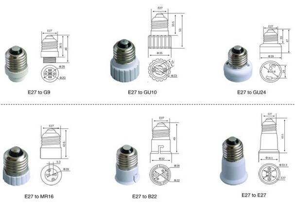 Customized Lamp Holder Parts China Manufacturer 187 E14