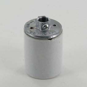 edison porcelain keyless sockets