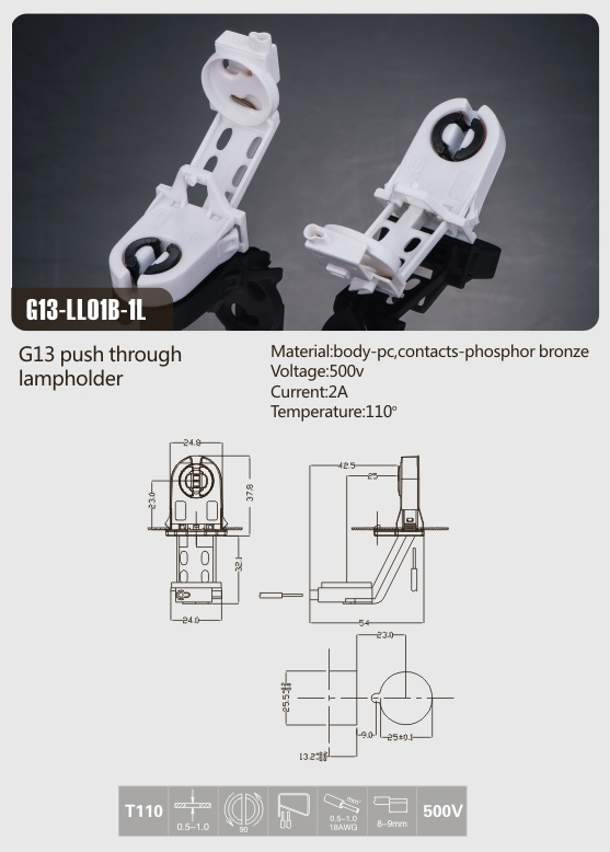 fluorescent-start-sockets-g13-ll01b-1l