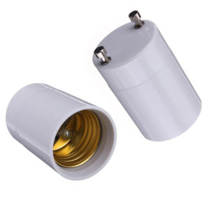 gu24 base to medium base - adapter converter socket