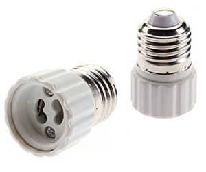 lamp adapter converter gu10-e27