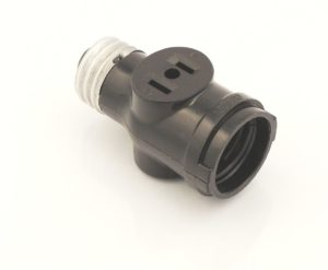 light bulb socket adapter 3 prong