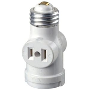 China light bulb socket outlet adapter