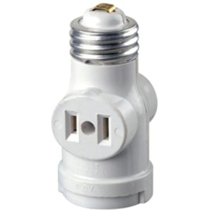 light socket plug adapter outdoor
