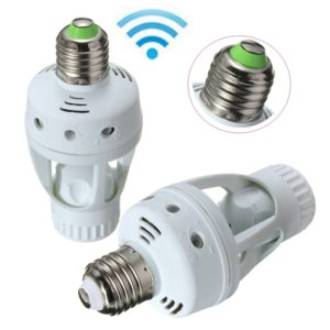 outdoor light sensor sockets