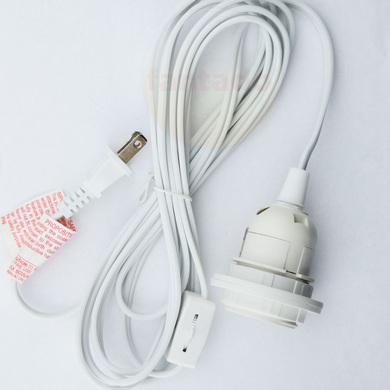 single socket pendant light cord kit for lanterns
