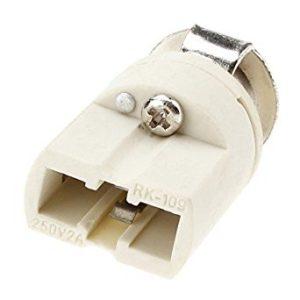 socket g9 ceramic lamp holder